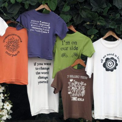 Cooperative T-shirts for grown-ups